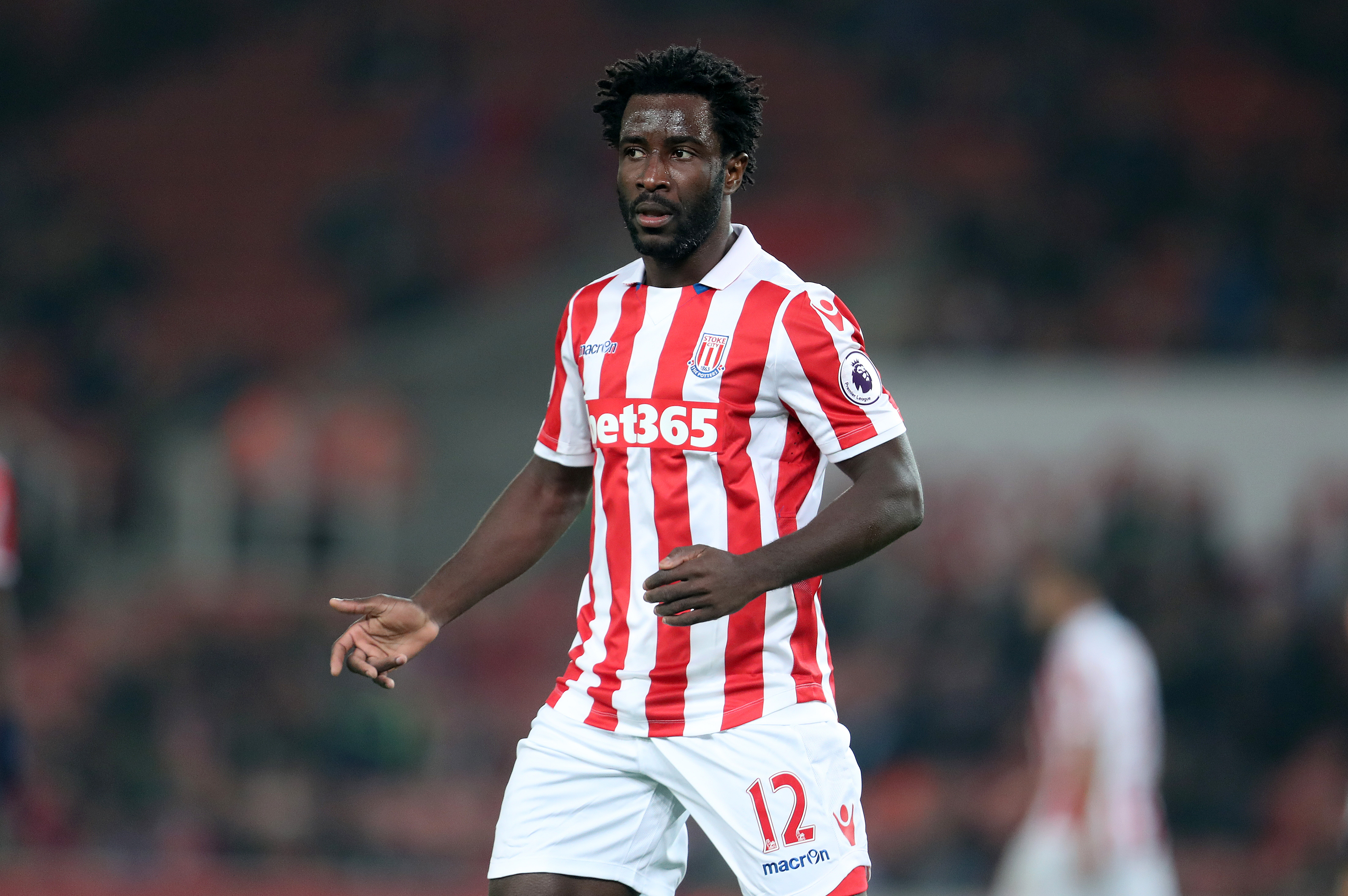 Stoke City striker Wilfried Bony 'looks like he's towing a caravan' against West Brom, claims Robbie Savage