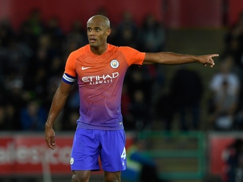 Manchester City captain Vincent Kompany suffers ANOTHER injury blow