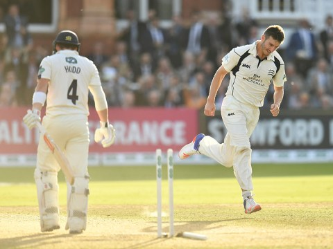 Middlesex win County Championship with amazing hat trick from Toby Roland-Jones
