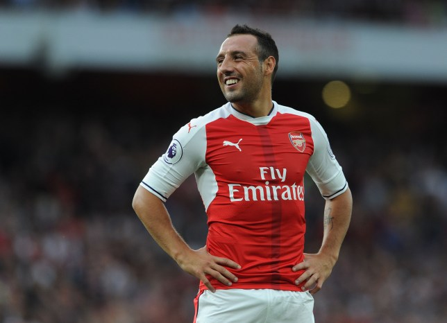 LONDON, ENGLAND - SEPTEMBER 24:  Santi Cazorla of Arsenal during the Premier League match between Arsenal and Chelsea at Emirates Stadium on September 24, 2016 in London, England.  (Photo by David Price/Arsenal FC via Getty Images)