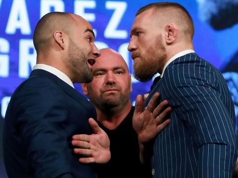 Conor McGregor labels Eddie Alvarez 'just another broke bum' ahead of their lightweight title fight