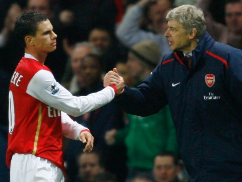 Arsenal boss Arsene Wenger remains a 'second father' to me, says Jeremie Aliadiere