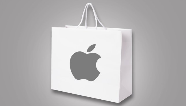 Apple's iBag could be the greatest invention of all time (or it's just a paper bag) Credit: Getty images
