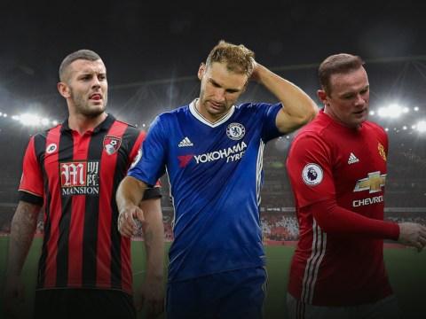 Metro.co.uk's Premier League flops of the week, including Wayne Rooney, Jack Wilshere, and Branislav Ivanovic