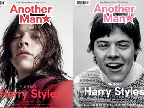 Harry Styles has debuted THREE new magazine covers with very different looks
