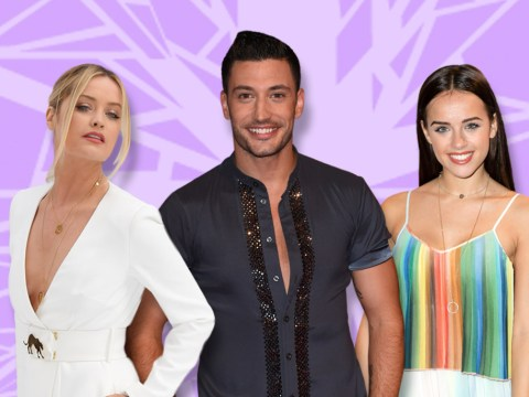 Laura Whitmore laughs off reports of a feud with friend Georgia May Foote over her Strictly partner Giovanni Pernice