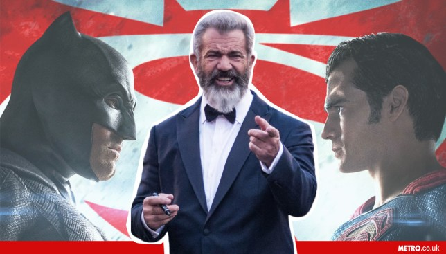 Mel Gibson says Batman V Superman is a 'piece of shit' Credit: REX
