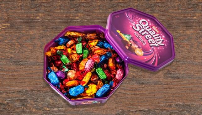 EC2A5C Quality Street Chocolates Credit: Alamy