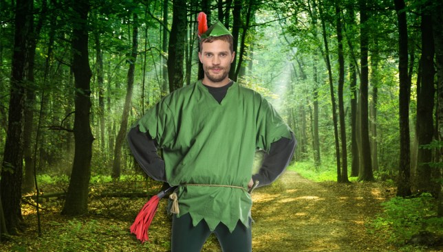 Jamie Dornan is going to put his tights on for Robin Hood Credit: Getty/REX/Alamy
