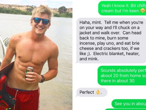 Man gets brutally trolled after being given a false number by uninterested girl
