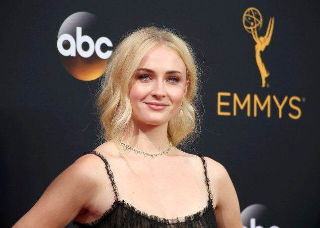 Sophie Turner has been acting in Game Of Thrones since she was 13 (Picture: Reuters)