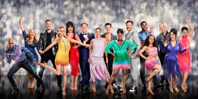 For use in UK, Ireland or Benelux countries only Undated BBC handout photo of (left to right) Melvin Odoom, Anastacia, Greg Rutherford, Laura Whitmore, Daisy Lowe, Ed Balls MP, Louise Redknapp, Danny Mac, Tameka Empson, Will Young, Ore Oduba, Claudia Fragapane, Judge Robert Rinder, Lesley Joseph and Naga Munchetty who are taking part in BBC1's Strictly Come Dancing 2016. PRESS ASSOCIATION Photo. Issue date: Thursday September 1, 2016. See PA story SHOWBIZ Strictly. Photo credit should read: Jay Brooks/BBC/PA Wire NOTE TO EDITORS: Not for use more than 21 days after issue. You may use this picture without charge only for the purpose of publicising or reporting on current BBC programming, personnel or other BBC output or activity within 21 days of issue. Any use after that time MUST be cleared through BBC Picture Publicity. Please credit the image to the BBC and any named photographer or independent programme maker, as described in the caption.