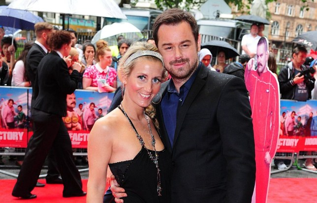 File photo dated 09/06/14 of Danny Dyer and Joanne Mas who are set to tie the knot in a Spanish-themed celebration at a secret location today. PRESS ASSOCIATION Photo. Issue date: Saturday September 3, 2016. See PA story SHOWBIZ Dyer. Photo credit should read: Ian West/PA Wire