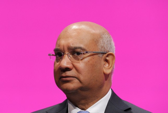 Keith Vaz MP during the Labour Conference 2014 at the Manchester Central.