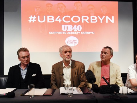Jeremy Corbyn deepens divide between warring factions of UB40