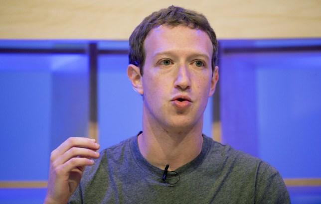 Facebook CEO Mark Zuckerberg speaking at the Facebook Innovation Hub in Berlin, Germany, 25 February 2016. Zuckerberg presented studies on Artificial Intelligence inter alia. PHOTO: KAY NIETFELD/dpa