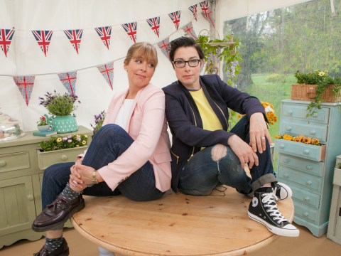 'Farewell my tenty chum': Sue Perkins emotional after recording final Bake Off voice over