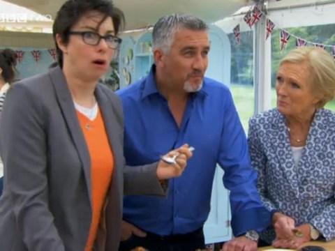 Sue Perkins 'makes a dig at Paul Hollywood as Great British Bake Off feud escalates'