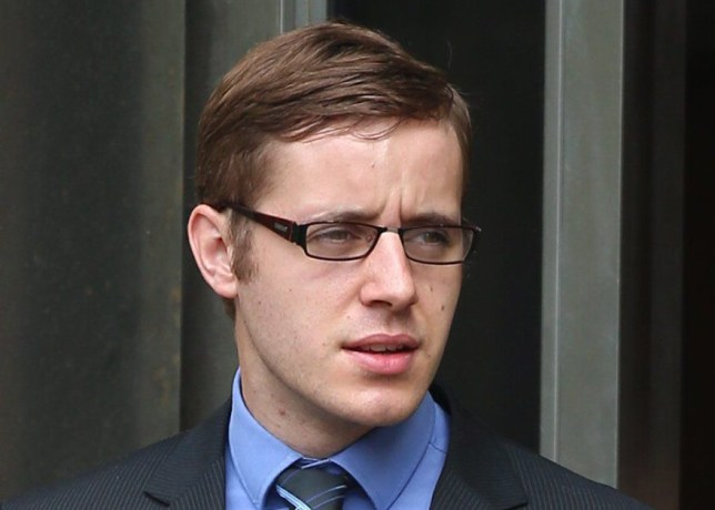 """Ryan Falconer, 24, leaves Bradford Crown Court today September 14 2016. Falconer is charged with rape and attempted rape. See rossparry RPYRAPE: A 24-year-old man raped a female friend in her own home before sending her a Whatsapp message with a sad face and """"I am sorry"""", a jury was told. A court heard that after Ryan Falconer left the woman, she sent him a message saying """"You don't understand how upset I am"""". Falconer, who denies rape and attempted rape and claims the woman consented to sex, replied saying """"Me too. I am sorry"""". He then sent a message with a sad face and apologised again, the jury heard."""