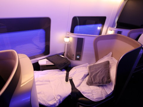 This is the only actual trick for getting a free upgrade on flights