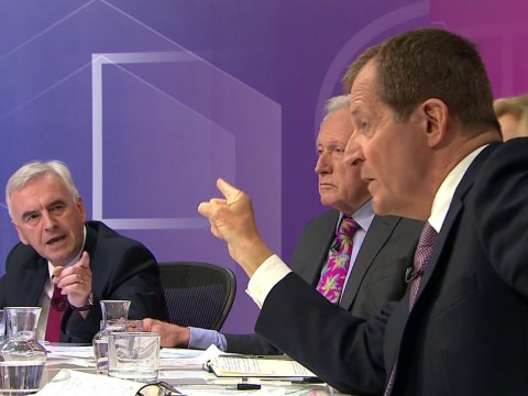 John McDonnell called Alastair Campbell 'a f***ing a***hole' after Question Time