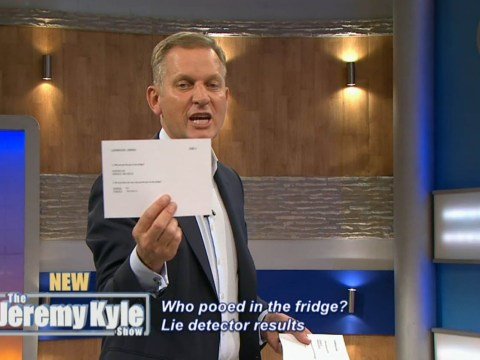 Three women return to Jeremy Kyle to prove they DIDN'T poo in a fridge