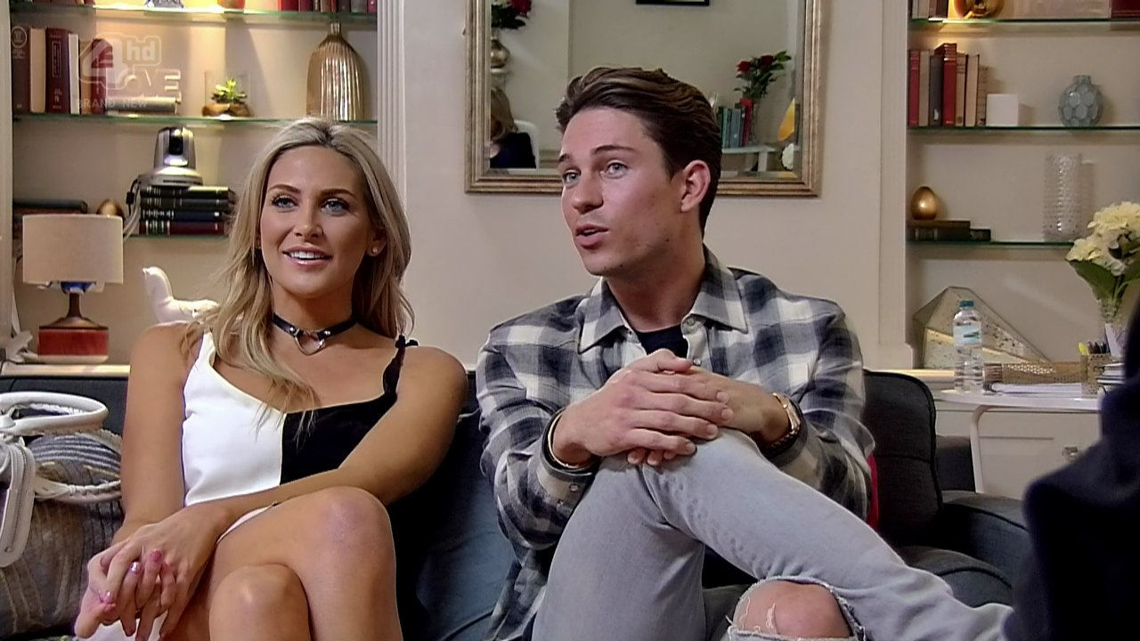 Joey Essex and Stephanie Pratt hit out at 'showmance' claims