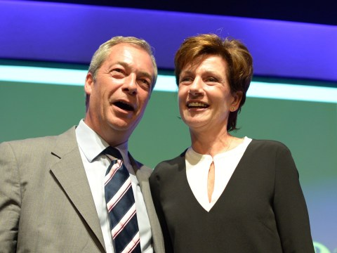 Diane James elected new leader of Ukip, replacing Nigel Farage