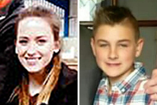 BEST QUALITY AVAILABLE Undated handout photos issued by Police Scotland of Aimee Wheelhouse 13, and Elliot Lister, 12, who have gone missing together in Aberdeenshire. PRESS ASSOCIATION Photo. Issue date: Tuesday September 20, 2016. They were last seen at Banff Academy around Monday lunchtime. See PA story SCOTLAND Missing. Photo credit should read: Police Scotland/PA Wire NOTE TO EDITORS: This handout photo may only be used in for editorial reporting purposes for the contemporaneous illustration of events, things or the people in the image or facts mentioned in the caption. Reuse of the picture may require further permission from the copyright holder.