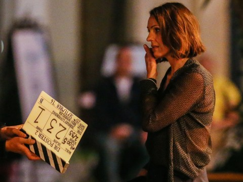 Suranne Jones films first scenes for second series of Doctor Foster