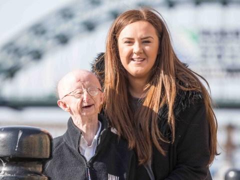 Strangers raise money for woman who raised money for Alan Barnes