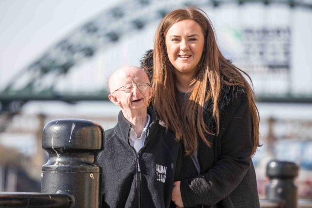 A fundraiser¿s debt could be wiped clean after generous Geordies dug deep to pay off her PR bill. nKatie Culter, well known for raising cash to help 4ft 6in Alan Barnes, racked up thousands of pounds of debt to a PR company who helped to promote her charity work. nBeautician Katie, 23, spearheaded the online campaign to raise more than £330,000 for vulnerable Alan after he was left with a broken collarbone when he was mugged outside his house in Low Fell, Gateshead. nBut now it¿s Katie, also from Gateshead, who has been saved by online fundraising pages, as generous strangers donate just over £6,000 to keep the bailiffs at bay. nThat¿s several hundreds of pounds short of the £6,687 she owes Claire Barber, CEO of Claire Barber PR ¿ but now Ms Barber says she¿s willing to accept the sum and ending the long-running legal battle. nnAlan Barnes and Katie Cutler press call, following the sentence for attacker Richard Gatiss.