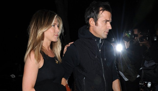 Mandatory Credit: Photo by Kristin Callahan/ACE/REX/Shutterstock (6012939ad) Jennifer Aniston and Justin Theroux Jennifer Aniston and Justin Theroux out and about, New York, USA - 24 Sep 2016