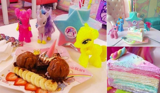 There's a unicorn cafe and it's pretty insane credit: unicornbrand/Instagram