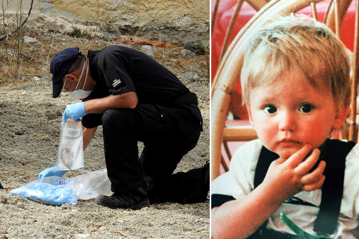 Fabric discovered during dig for missing Ben Needham's body on Kos