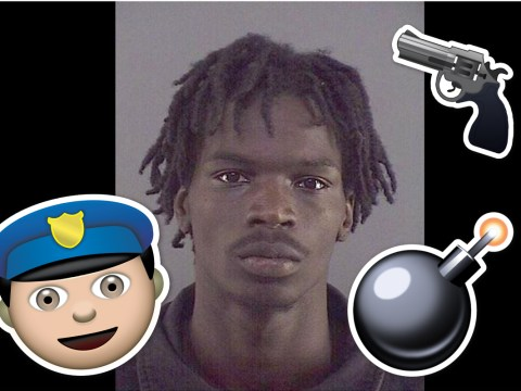 Man avoids jail after threatening police officer with emojis