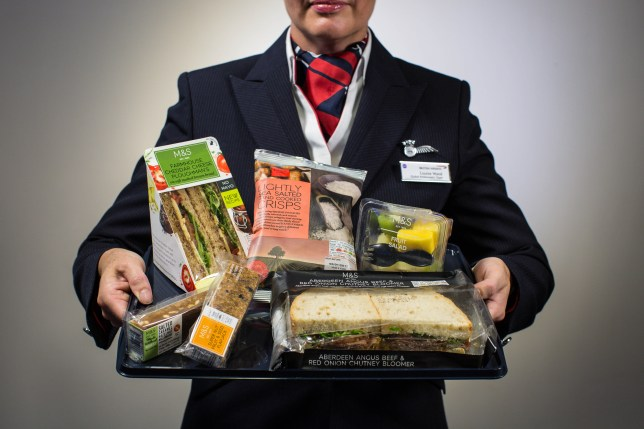 British Airways ditches free meals on short-haul flights for M&S food