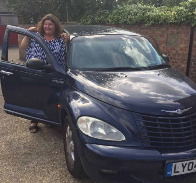 Eastenders Actress Cheryl Fergison Is Selling Her Car On Ebay Metro News