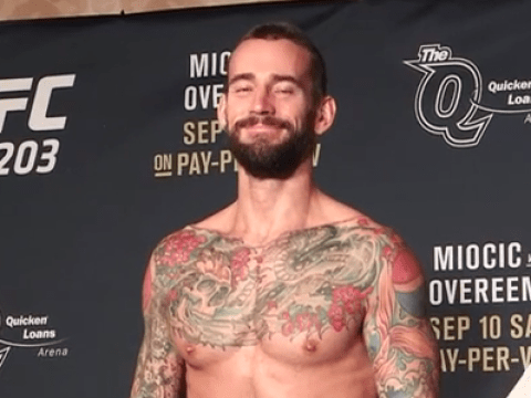 CM Punk's long-awaited debut in the UFC edges closer as he eases to 170lbs at early weigh in