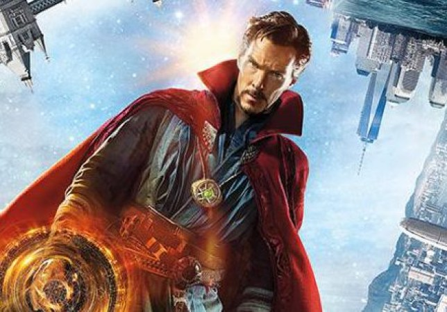 New poster art for Doctor Strange has been released today (Picture: Marvel)