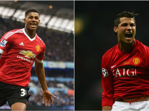 Marcus Rashford reveals he looked up to former Manchester United player Cristiano Ronaldo