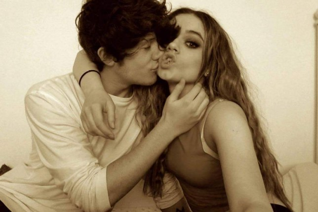 Ryan Lawrie and Emily Middlemas are dating (Picture: Ryan Lawrie Twitter)