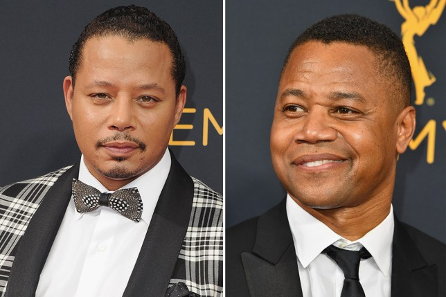 Emmy's officila twitter blunder - mistakes Cuba Gooding Jr and Terrance Howard (Picture: Getty)