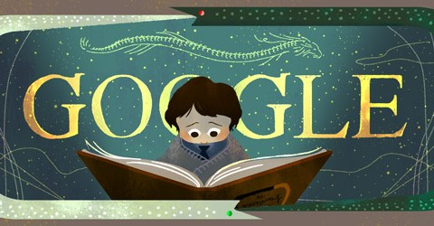 Google Doodle depicting The Neverending Story celebrates 37th anniversary of Michael Ende's book