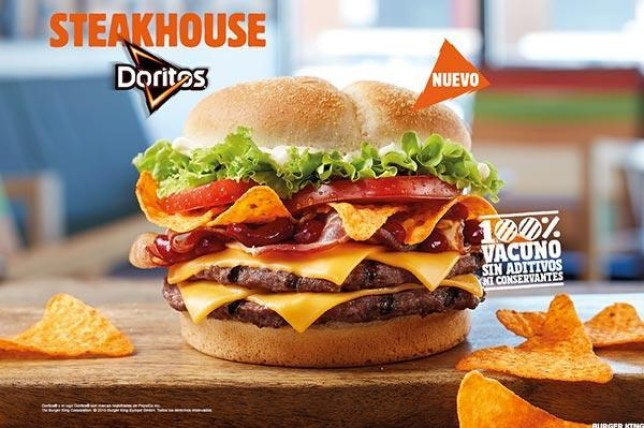 doritos burger king