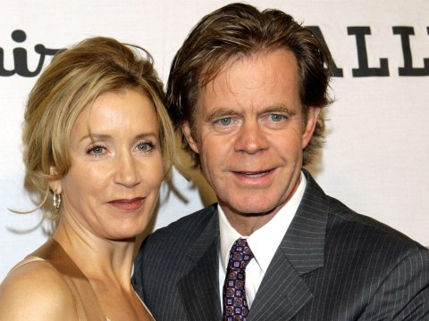 Felicity Huffman's husband William H. Macy 'stands by her side' as Desperate Housewives star prepares for prison