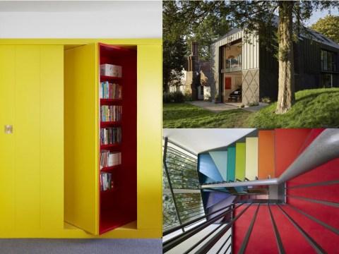 Parents build £840,000 family fun house with secret passageways and hidden rooms