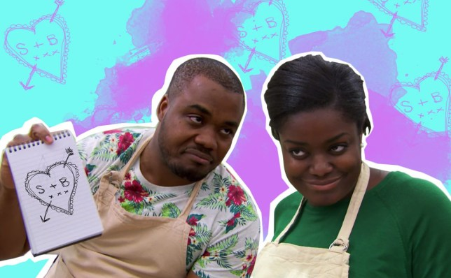 GBBO's Selasi and Benjamina's chemistry has got Twitter going nuts