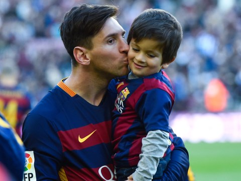Lionel Messi's son Thiago set to join Barcelona
