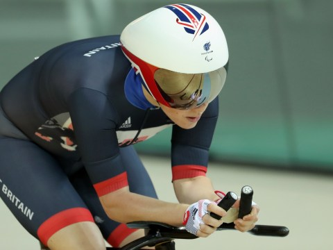 Megan Giglia wins first gold medal for Great Britain at the Paralympics